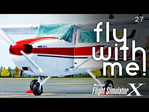 Microsoft Flight Simulator X - C172 to COU...