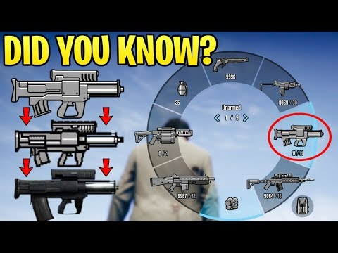 GTA Online DID YOU KNOW? - The Forgotten Programmable A.R.