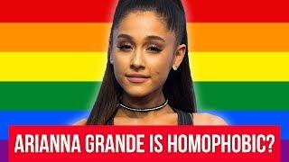 Ariana Grande Accused of Homophobia & Transphobia - Adam22 Reacts