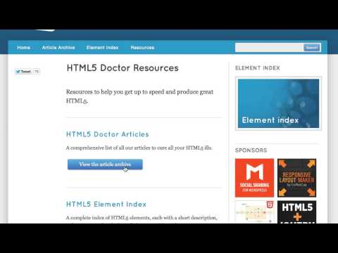 UI: Tiny move to bottom with active link on HTML 5 Doctor