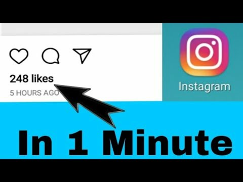 How to get 5000 instagram likes 2018 | Get free like on instagram | Increase instagram likes daily