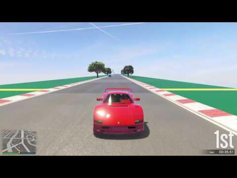 GTA 5 Top Speed Drag Race (Turismo Classic vs. JB 700)