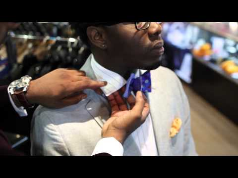 Different Collar Styles for Bow Ties : Basic Bow Tie Tips