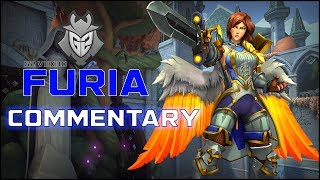 Paladins Pro | Furia Pro Support Commentary | G2 Vex30