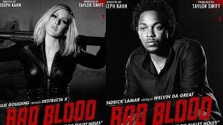 New Taylor Swift Bad Blood Posters Featuring Kendrick Lamar Lena Dunham Gigi Hadid