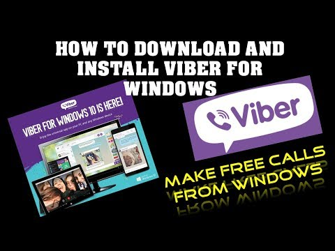How to Install Viber on Your PC (Windows 8/8.1/10)