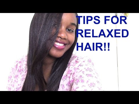 Tips For Healthy Relaxed Hair!! How To Make It Grow!