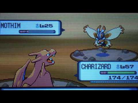Pokemon diamond how to find mothim