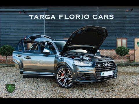 Audi SQ7 4.0 V8 BiTDI Quattro 5dr 435 PS Tip Automatic in Daytona Grey Pearl Effect 2017