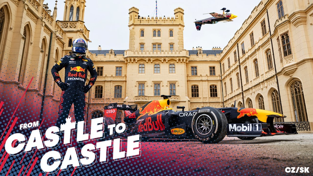 From Castle to Castle   Red Bull Racing take a Road Trip from the Czech Republic to Slovakia