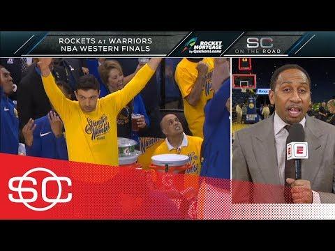 Stephen A. Smith: Warriors' Game 6 win vs. Rockets was an 'unbelievable show'   SportsCenter   ESPN