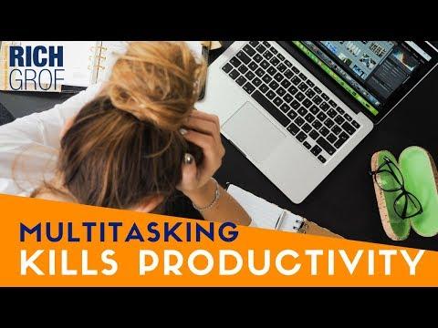 Multitasking Kills Productivity - Time Management Tips