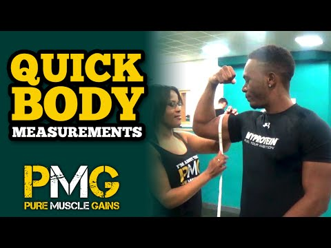 TJ Body Measurements | Arms, Legs, Waist & Chest Size - May 15'