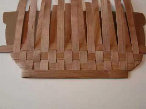 Woven Wood Basket
