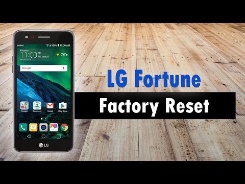 LG Fortune How to Reset Back to Factory Settings