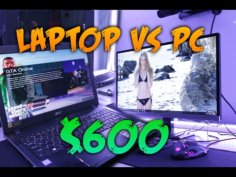 $600 Gaming Laptop vs $600 PC Monitor Combo