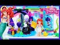 Disney Princess Ariel and the Magical Spell Lego Build Review Silly Play Kids Toys