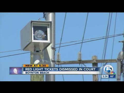 Red light tickets dismissed in court