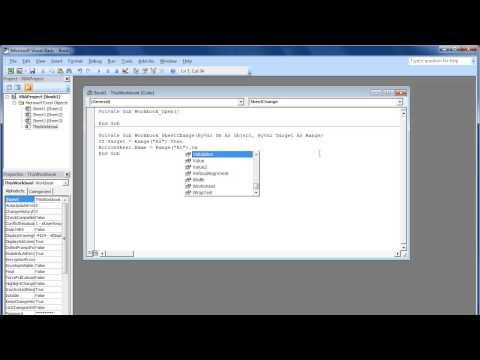 How to Write Excel Macrosvia VBA