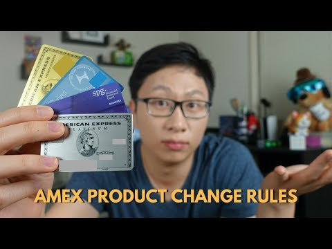 Amex Product Change Rules (Upgrading = No Future Signup Bonus?)