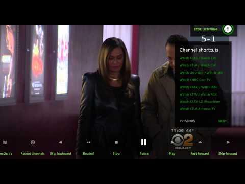Xbox One TV OneGuide using Mediasonic HomeWorX HW150PVR OTA box