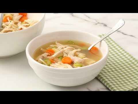 Classic Chicken-Vegetable Soup- Martha Stewart