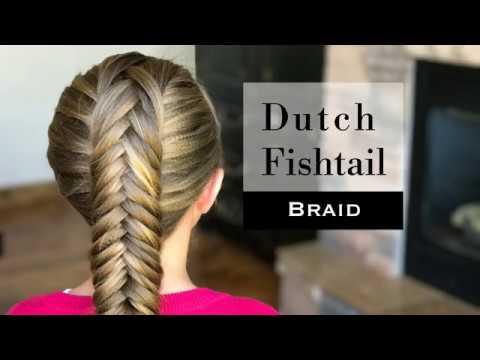 Dutch Fishtail Braid by Holster Braids