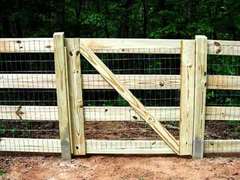 Split Rail Fence Gate Design | Fences Design For Outdoor - Garden