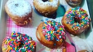 Rosquinha Recheadas/bolinho De Chuva/tipo Donuts