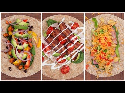 5 Protein-Packed Lunch Wraps | Back-To-School