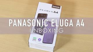 Panasonic Eluga A4 Unboxing & Quick Overview With Pros, Cons