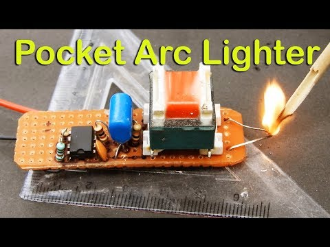 Pocket Arc Lighter_You can make it for yourself..