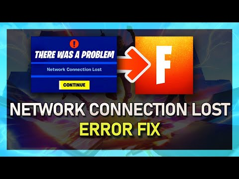 Fortnite - How to Fix Network Connection Lost Error - 2019