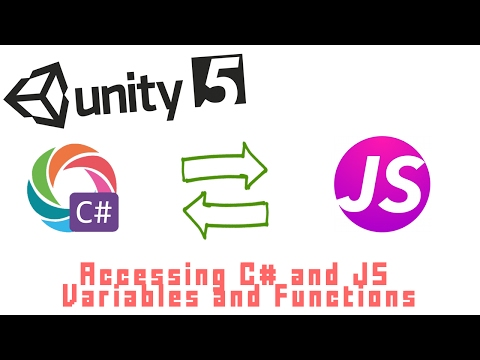 How to Access C# Variables From JavaScript and JavaScript Variables From C# - Unity 3D