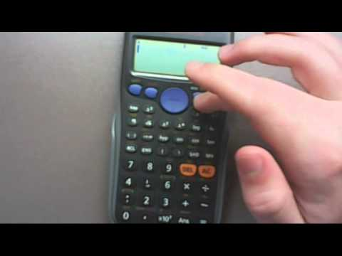 Casio fx-82 AU calculator changing from DEGREES to RADIANS