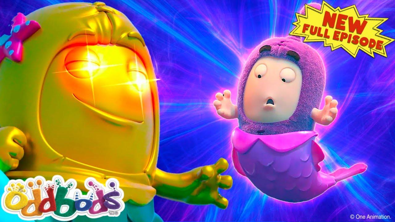 Oddbods   Jeff's Little Mermaid Tail   NEW Full Episode   Cartoon for Kids