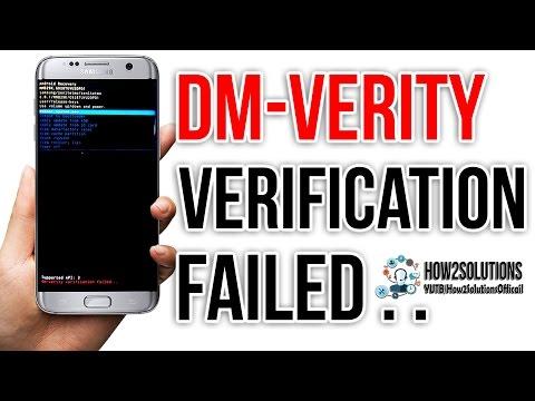 Fix Dm verity verification failed DRK Galaxy S7 Edge G930 G935