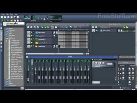 Free Beat Making Software (Similar to FL Studio)