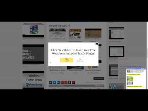 How To Get Free Website Traffic To Your Website Using This Free WordPress Plugin (Proof)