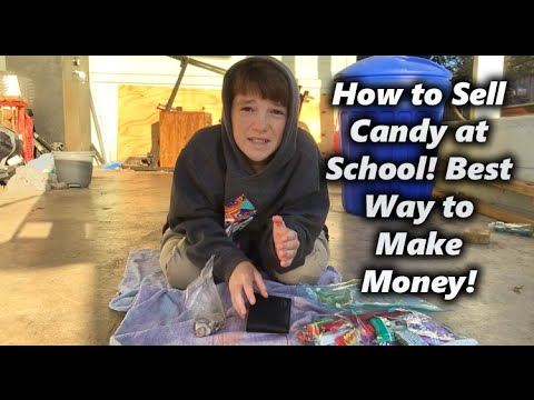 How to Sell Candy at School! How to Make Easy Money? 2016