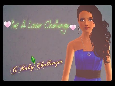 Lets Play The Sims 3 I'm a Lover Challenge Part 6: A budding romance!