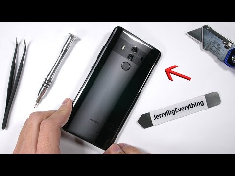 Huawei Mate 10 Pro Teardown - Is true beauty on the Inside?