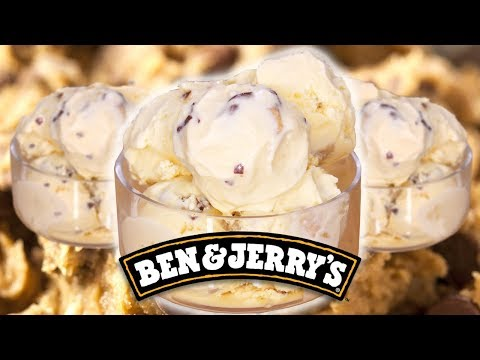 Ben & Jerry's Chocolate Chip Cookie Dough Ice Cream | Homemade Recipe