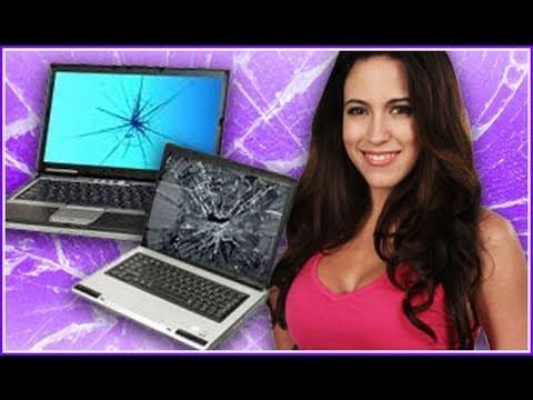 How To Fix A Broken Computer Screen (Gadget Girl)