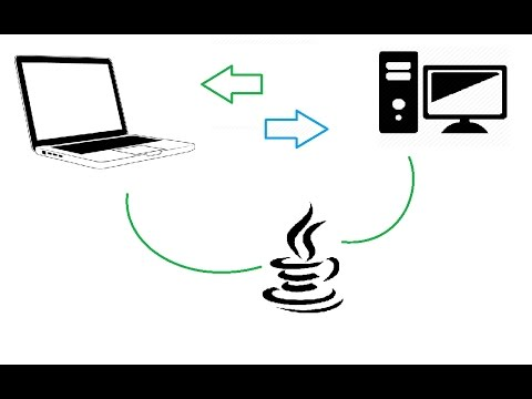 Connect computers using Java programs and networking