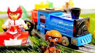 #Ryder #Rubble und #Zuma helfen dem Zug – Video mit #PawPatrol auf Deutsch