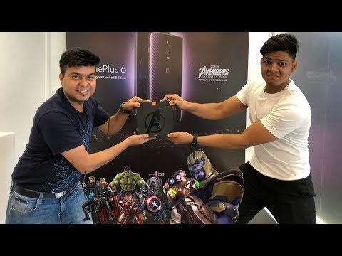 OnePlus 6 Avengers Limited Edition Unboxing !(256 GB & 8 GB Ram)