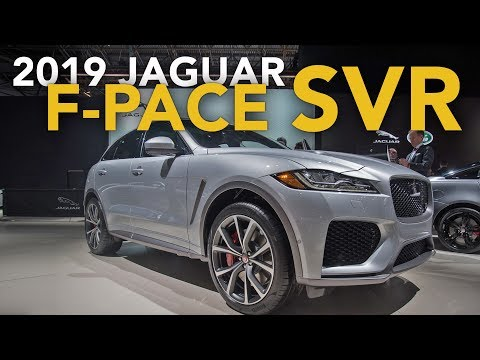 2019 Jaguar F Pace SVR First Look - 2018 New York Auto Show