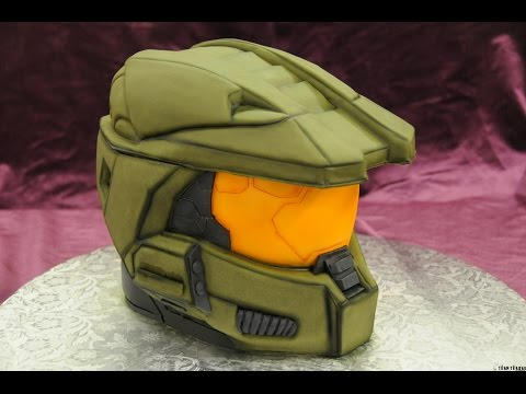 Home made Halo Master Chief cake. NAILED IT! how to. fail. Xbox