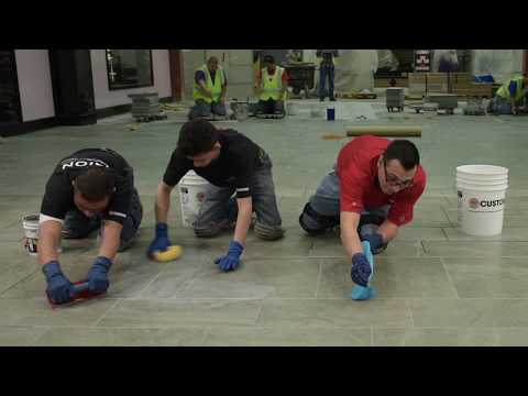 Install Fusion Pro® Grout Faster with Teamwork